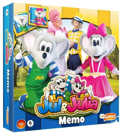Just2Play Memory Jul & Julia 36 kaarten