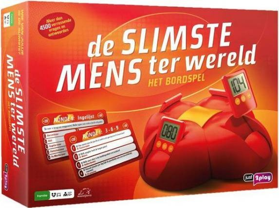 Just Games bordspel De Slimste Mens ter Wereld
