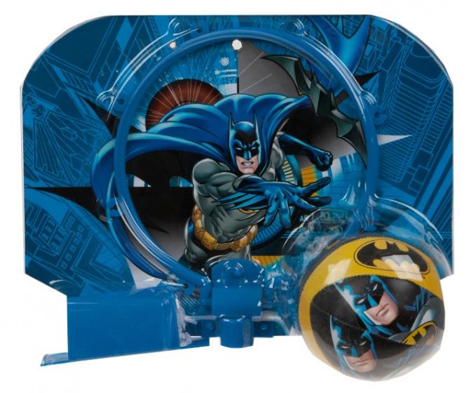 Kamparo basketbalring met bal Batman blauw 29 x 22 cm kopen