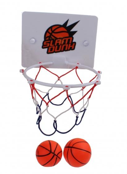 Kamparo basketbalset 3 delig wit/oranje kopen