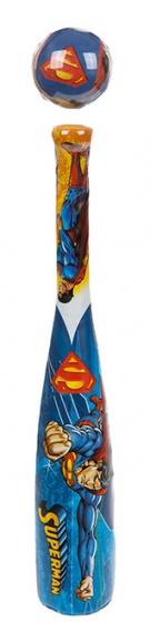 Kamparo honkbalset Superman blauw 53 cm kopen