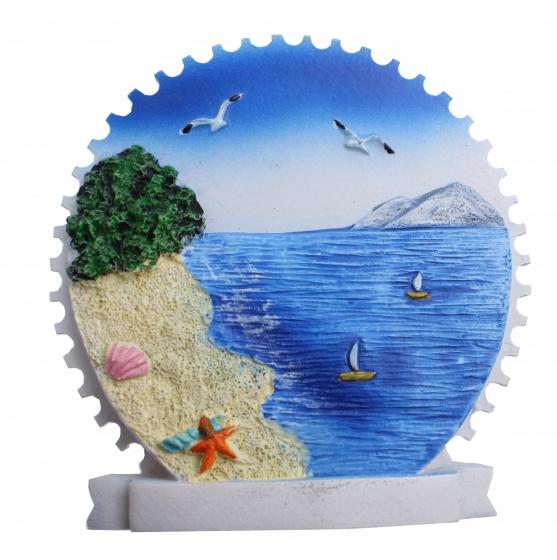 Kamparo magneet strand zeester 7 cm