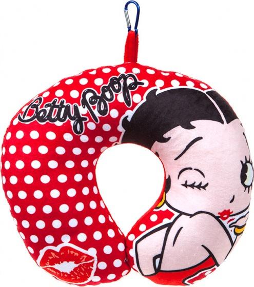 Kamparo nekkussen Betty Boop 28 x 30 cm rood kopen