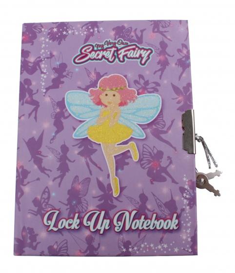 Kamparo notitieboek Secret Fairy met slotje 15 cm paars kopen