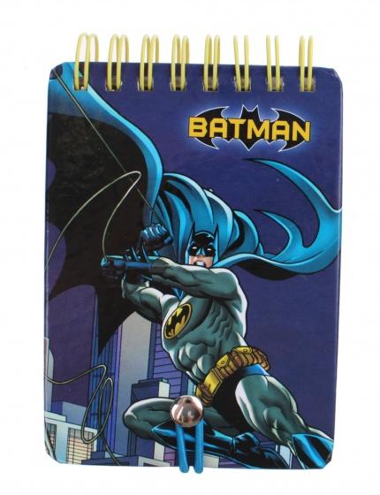 Kamparo notitieboekje Batman blauw 7,5 x 10,5 cm kopen