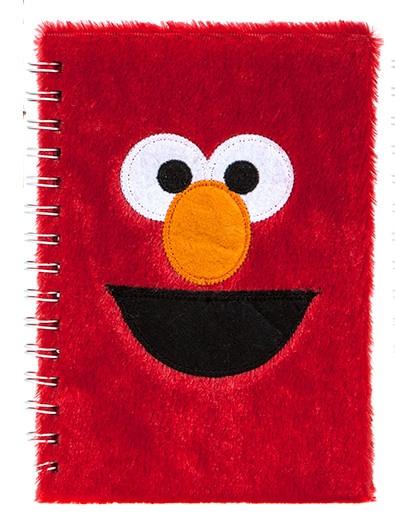 Kamparo notitieboekje fluffy Sesamstraat Elmo 15x21 cm kopen