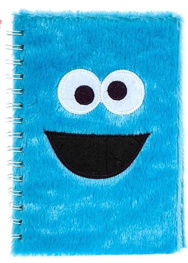 Kamparo notitieboekje fluffy Sesamstraat Koekiemonster 15x21 cm kopen