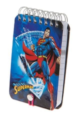 Kamparo notitieboekje Superman 11 x 8 cm blauw kopen