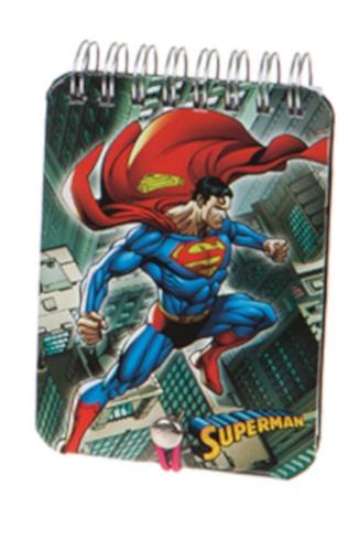 Kamparo notitieboekje Superman 11 x 8 cm grijs kopen
