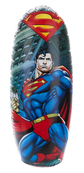 Kamparo opblaasbare boksbal Superman 80 cm