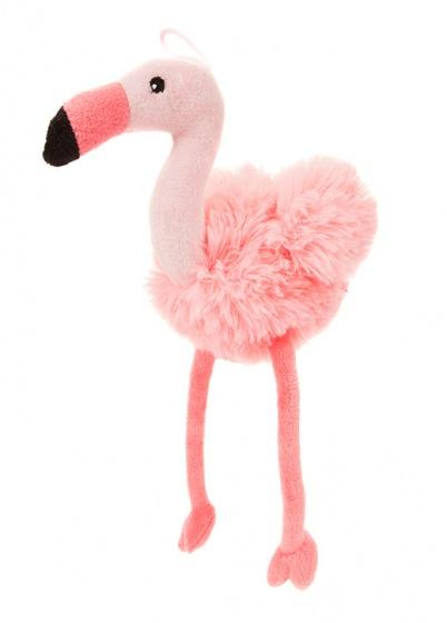 Kamparo knuffel Flavia Flamingo 29 cm roze