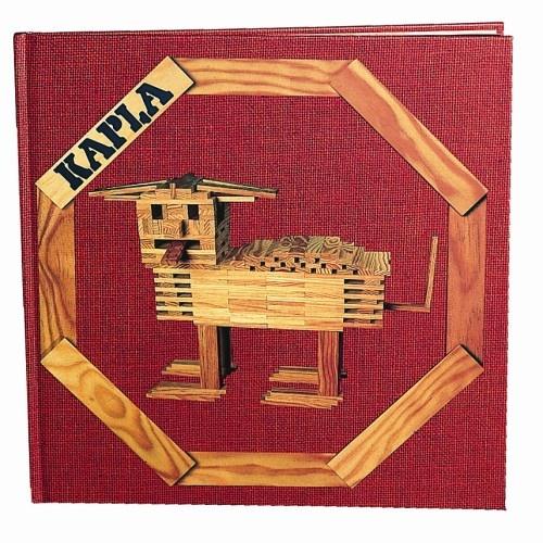 Kapla Voorbeeldenboek Nr. 1 Rood