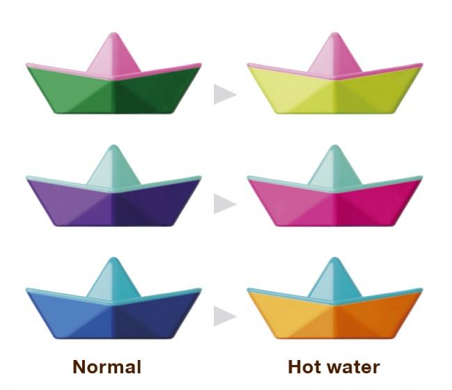 Kid O origami bootjes kleurwissel 3 stuks