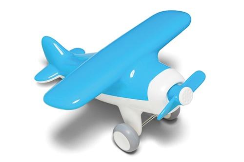Kid O Vliegtuig 23 X 20,5 X 11 cm Blauw