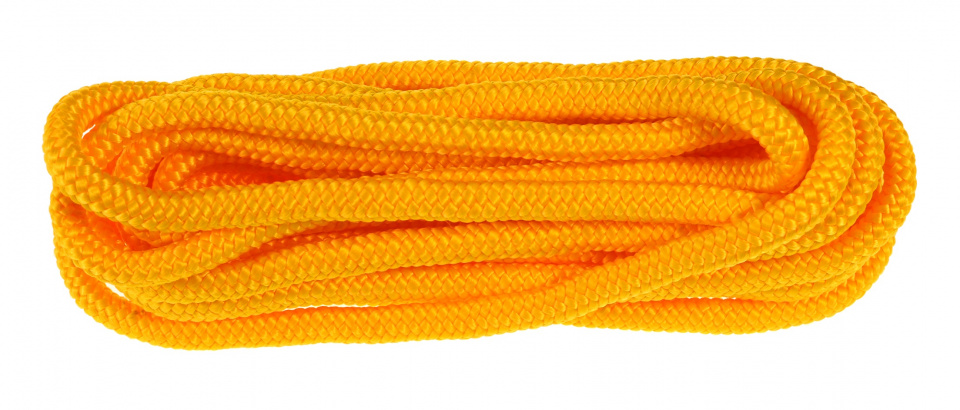 Kids At Work springtouw junior 250 cm nylon geel