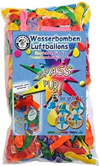 Kids At Work waterballonnen Spass junior rubber 250 stuks