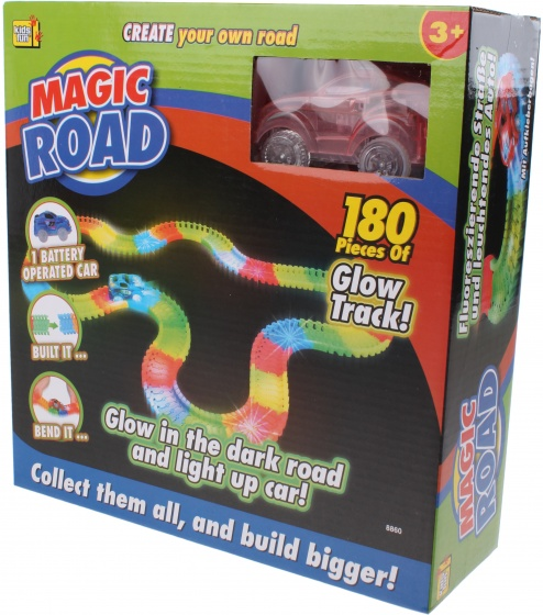 race track Magic road red 180-piece