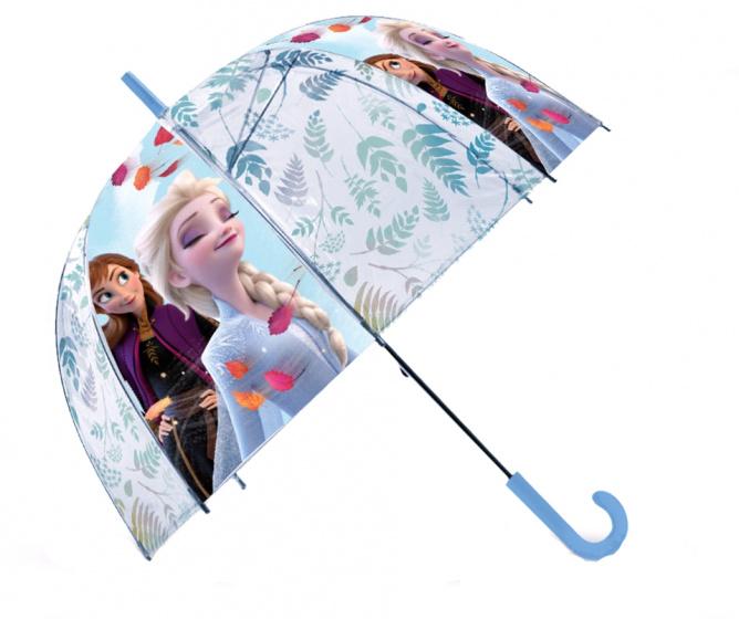 Kids Licensing kinderparaplu Frozen 2 PVC 45 cm blauw/wit