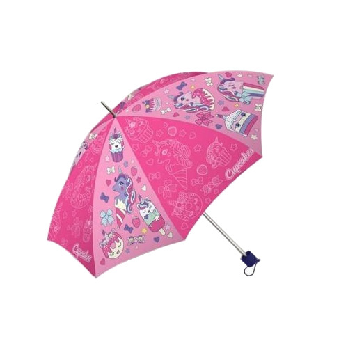Kids Licensing kinderparaplu inklapbaar Cupcake meisjes 80 cm roze