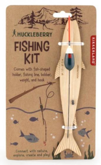 Kikkerland visset junior 635 cm hout/nylon/tin naturel 4 delig