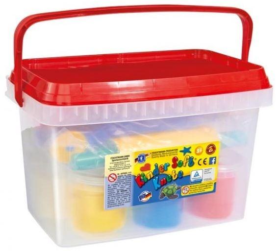 Feuchtmann Kinder Soft Knete All In a Bucket Klei Set