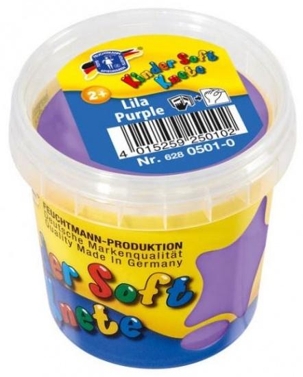 Feuchtmann Kinder Soft Knete Basic Klei 150 gram Paars