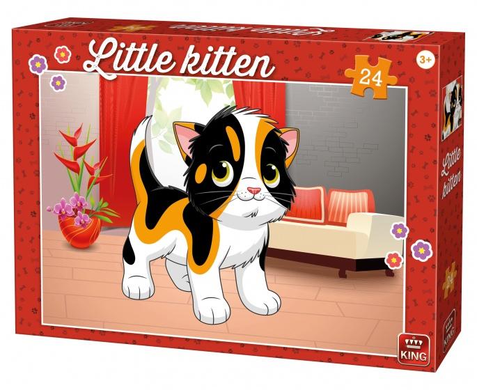 King kinderpuzzel Little Kitten At Home 24 stuks