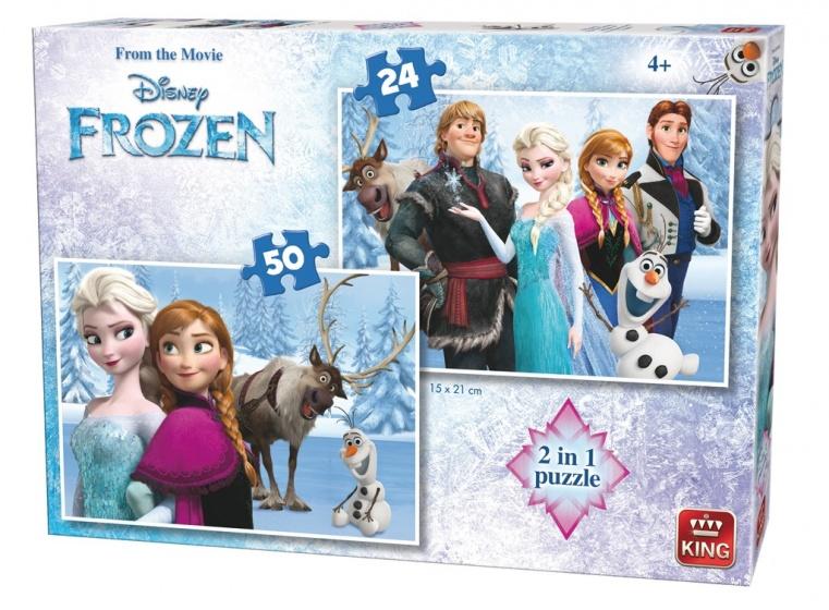 King Legpuzzel 2 In 1 Disney Frozen