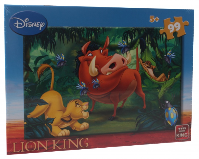 King legpuzzel 99 stukjes Disney Lion King