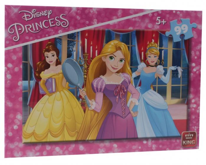 King legpuzzel 99 stukjes Disney Princess