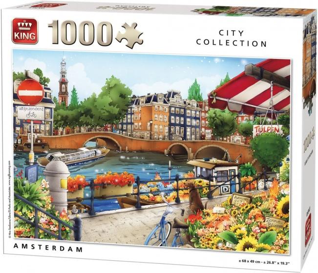 King legpuzzel Amsterdam 1000 stukjes