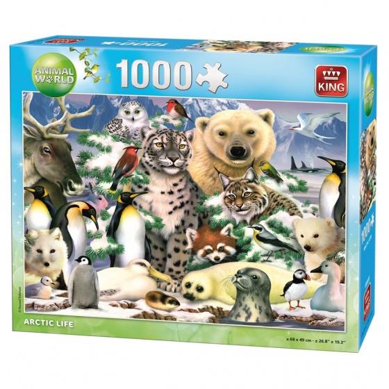King legpuzzel Arctic Life 1000 stukjes