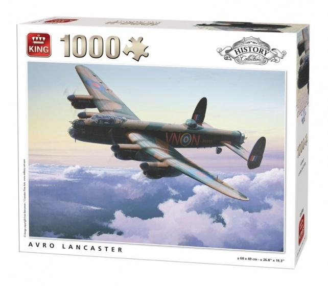 King legpuzzel Avro Lancaster 1000 stukjes