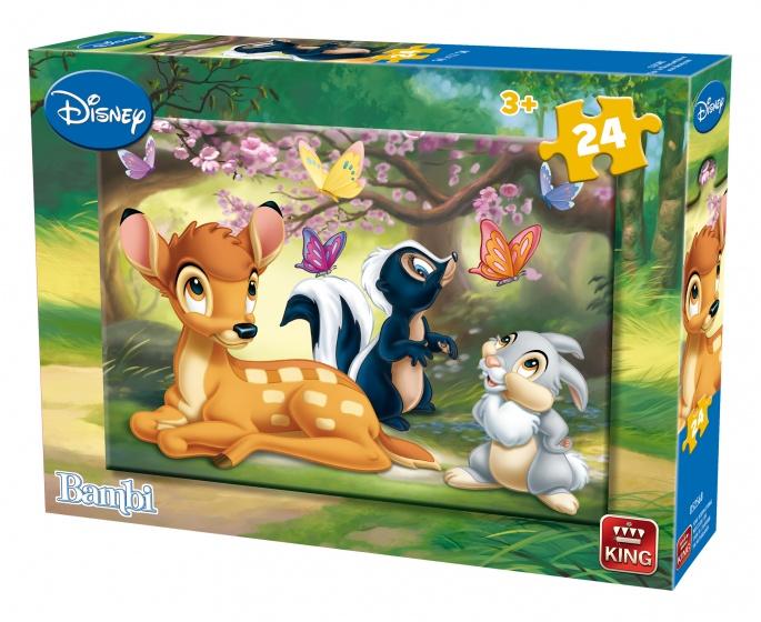 King legpuzzel Bambi 24 stukjes