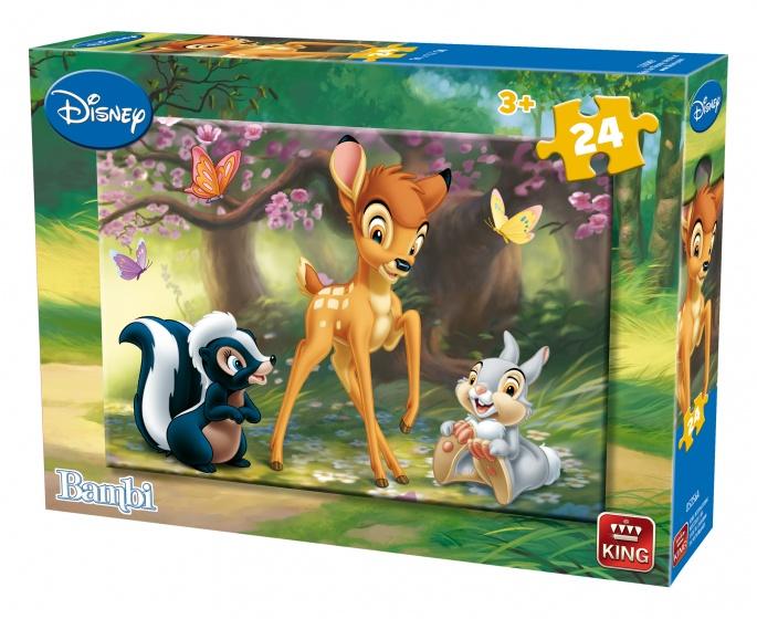 King legpuzzel Bambi 24 stuks