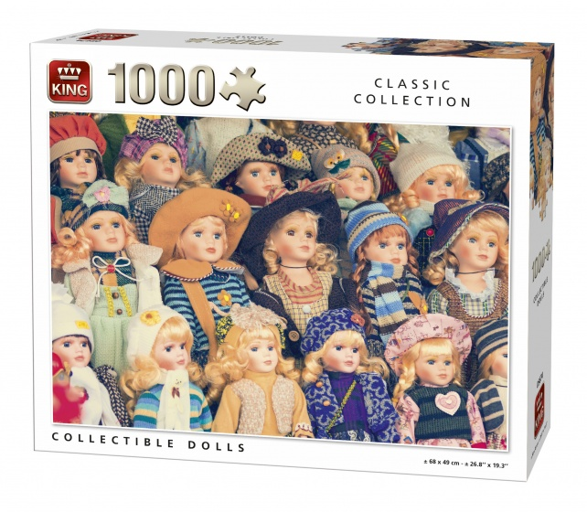 King legpuzzel Collectible Dolls 1000 stukjes