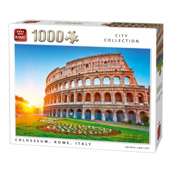 King legpuzzel Colosseum At Sunrise in Rome 1000 stukjes