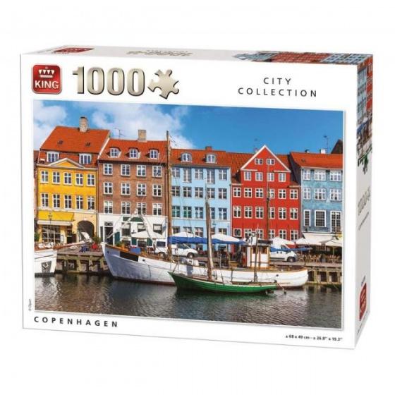 King legpuzzel Copenhagen 1000 stukjes