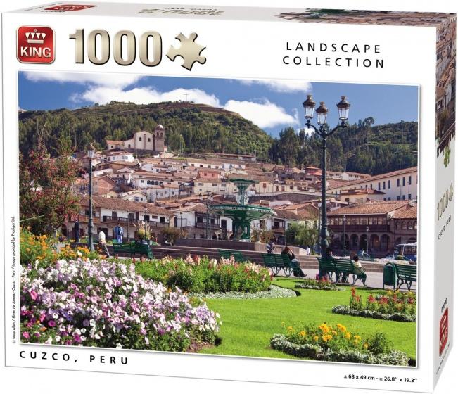 King legpuzzel Cuzco, Peru 1000 stukjes