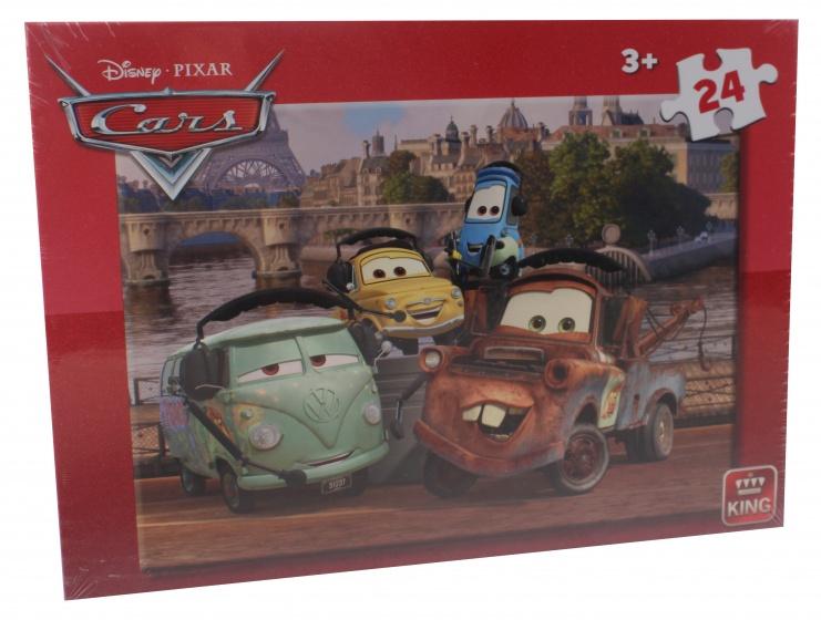 King legpuzzel Disney Cars 24 stukjes