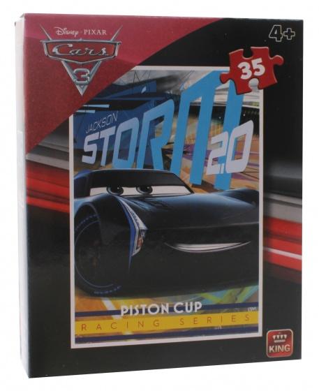 King legpuzzel Disney Cars 3 Jackson Storm 2.0 35 stukjes