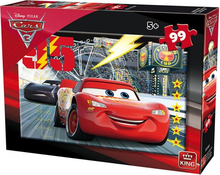 King legpuzzel Disney Cars 99 stukjes