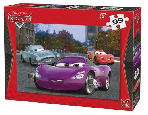 King legpuzzel Disney Cars: Holley Shiftwell 99 stukjes