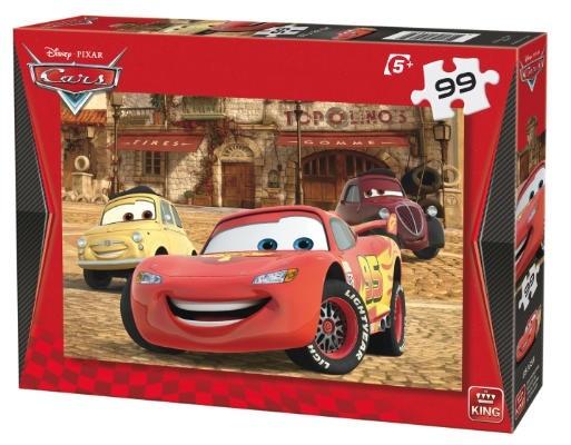 King legpuzzel Disney Cars: Lightning McQueen 99 stukjes