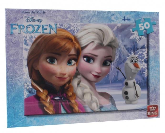 King legpuzzel Disney Frozen 50 stukjes