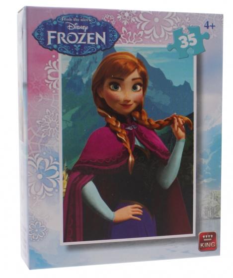 King legpuzzel Disney Frozen Anna 35 stukjes