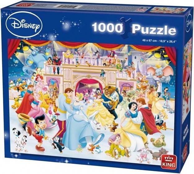 King legpuzzel Disney Holiday On Ice 1000 stukjes