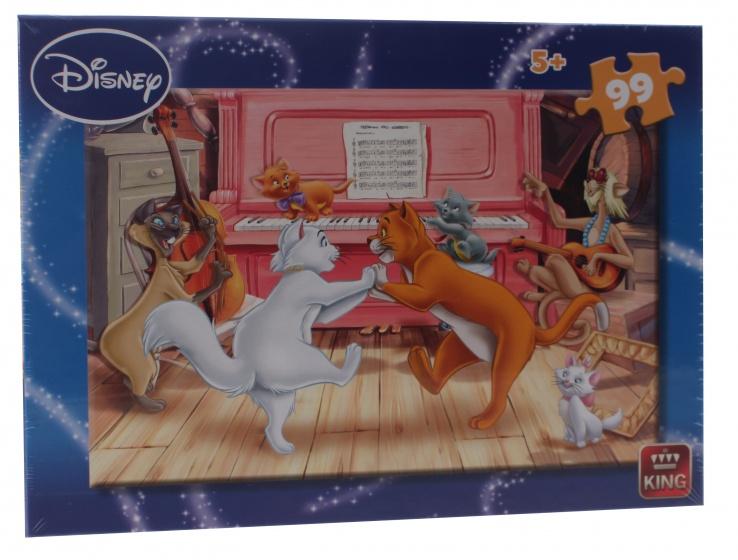 King legpuzzel Disney de Aristocats 99 stukjes