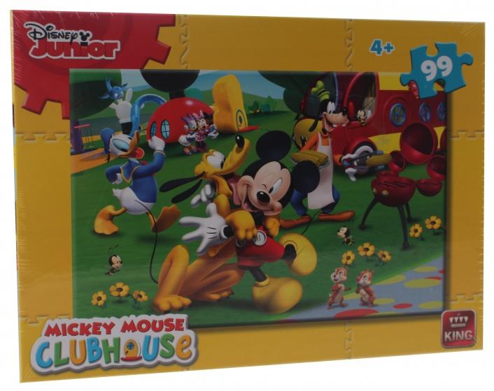 King legpuzzel Disney Mickey Mouse Clubhouse 99 stukjes
