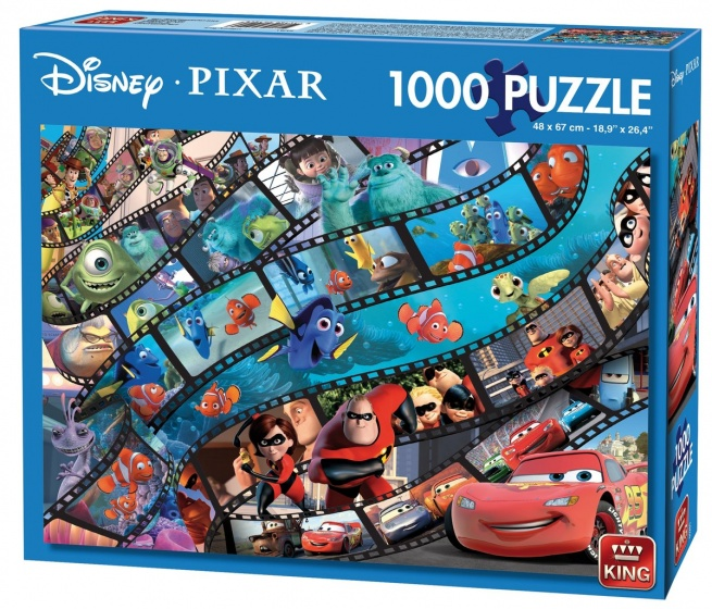 King legpuzzel Disney Pixar Movie Magic 1000 stukjes